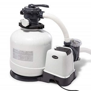 Intex Krystal Clear Sand Filter Pump for Above Ground Pools