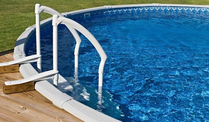 Above The Ground Pool Ladders