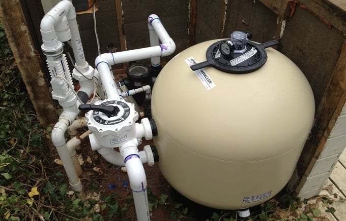 Using Pool Sand Filter