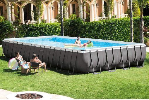 Intex Ultra Frame Rectangular Pool Set