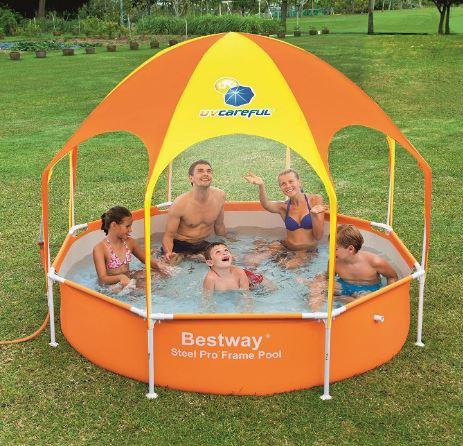 H2OGO! Splash-in-Shade Play Pool