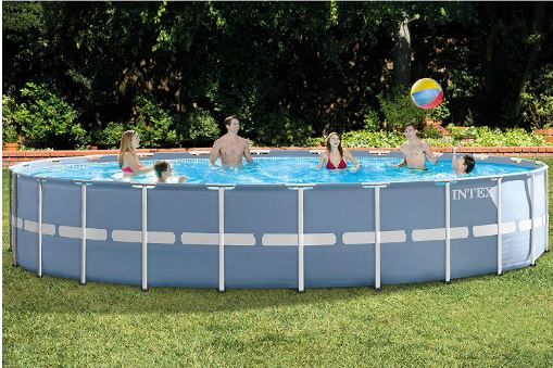 Intex Prism Frame Pool Set – 24ft X 52in