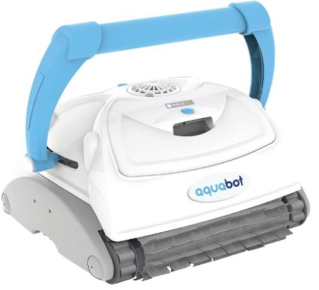 AQUABOT BREEZE IQ WALL-CLIMBING POOL CLEANER