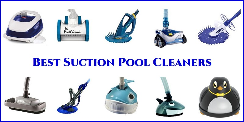 Suction pool cleaners