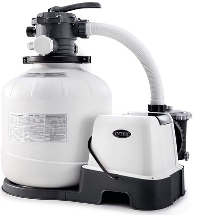 Intex 26679EG Krystal Clear Sand Filter Saltwater System