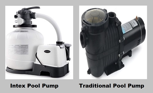 Intex pool pump vs. traditional