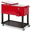 Best Choice Products Steel Rolling Cooler Cart