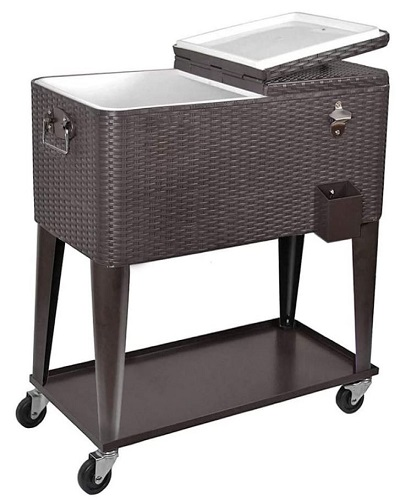 Clevr Rolling Patio Cooler