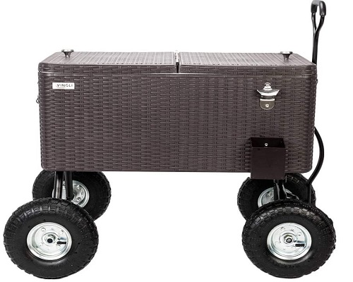 VINGLI Wagon Patio Cooler